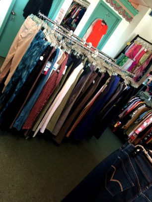 Jeans & slacks are ALWAYS at discounted prices, even designer names!