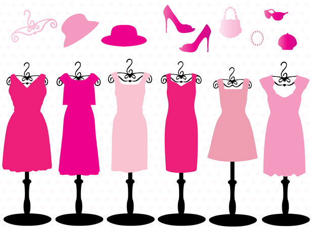 pink-dresses-and-accessories