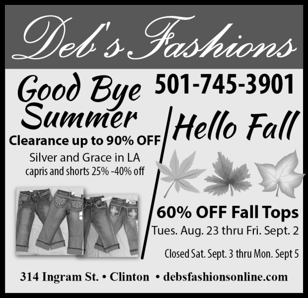 Hurry in for best selection!